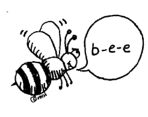 Line Art Bee : Spelling bee the king s school