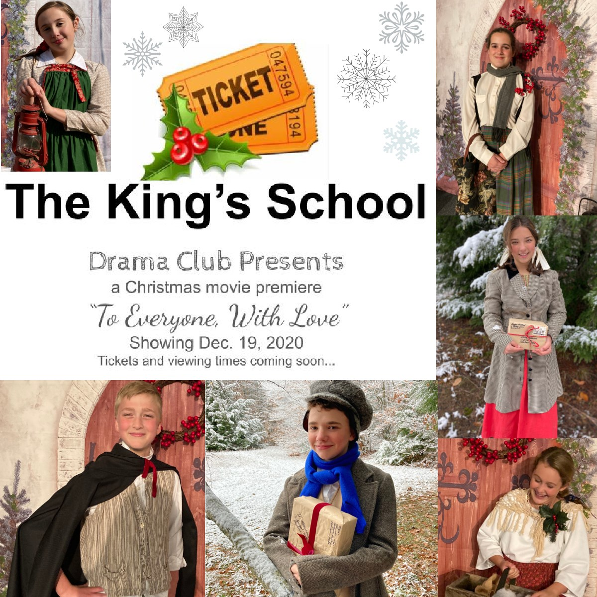 Christmas Movie Premiere- The King