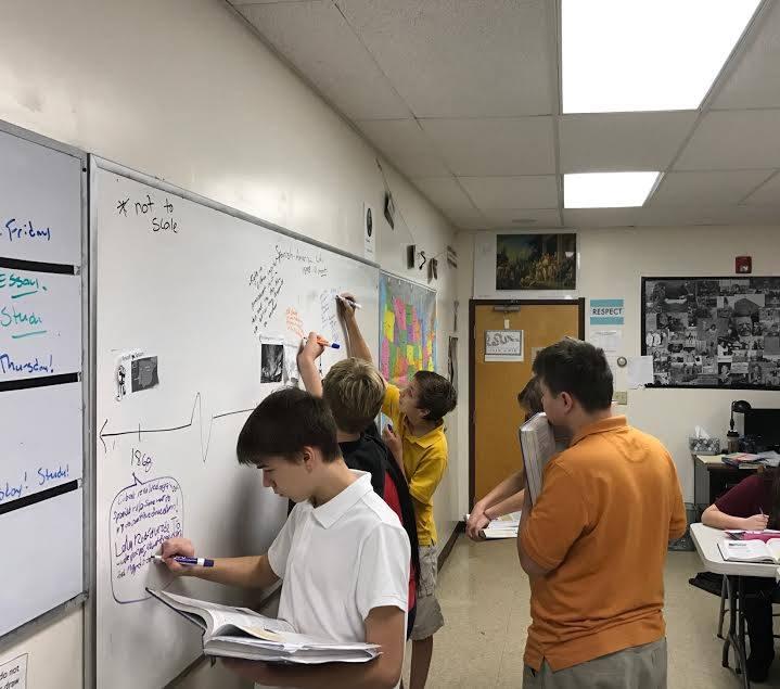 8th Graders Make History Larger Than Life