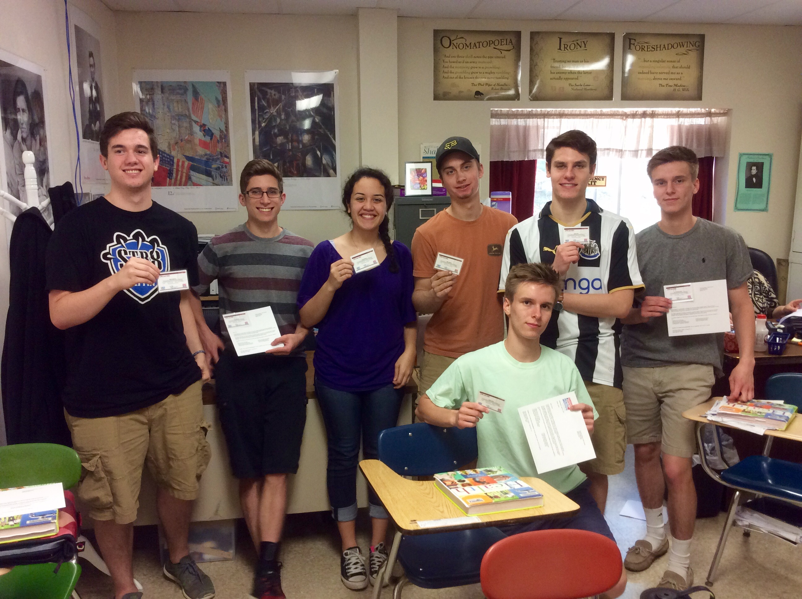 The King's School Health Class CPR Certified!