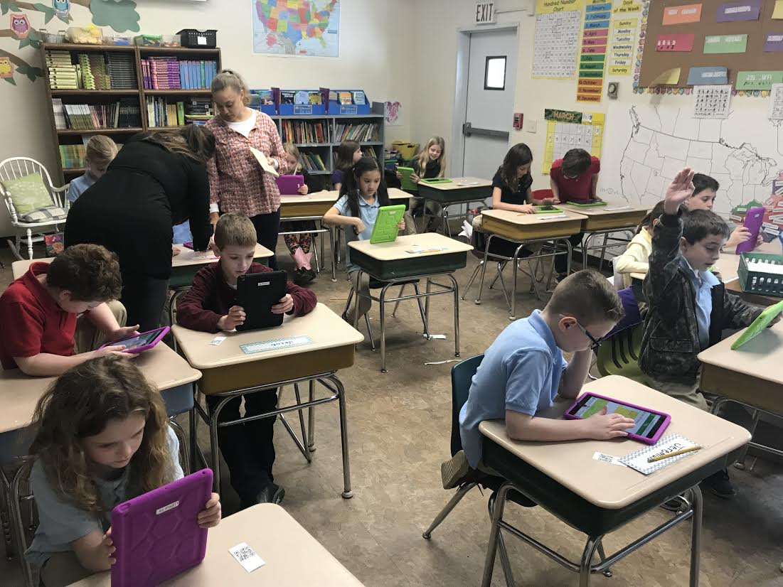 New Elementary Ipads Hit the Classrooms!