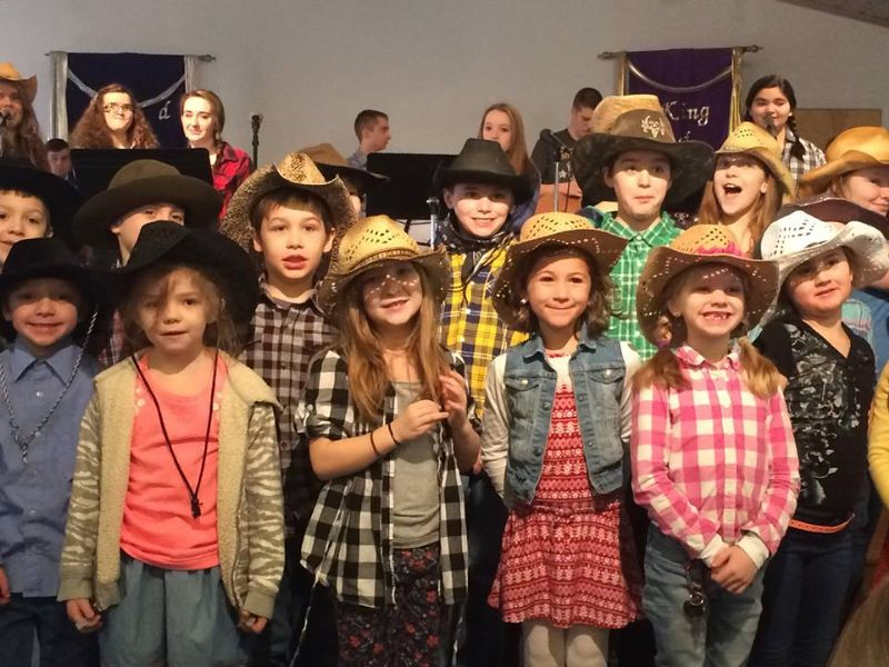 Western Dress Up Day at The King's School, March 4, 2016